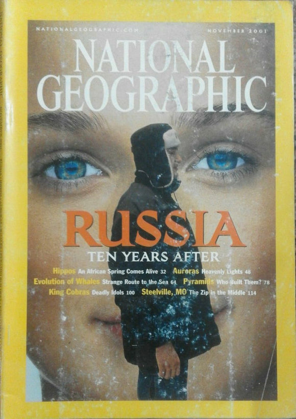 National Geographic Nov 2001