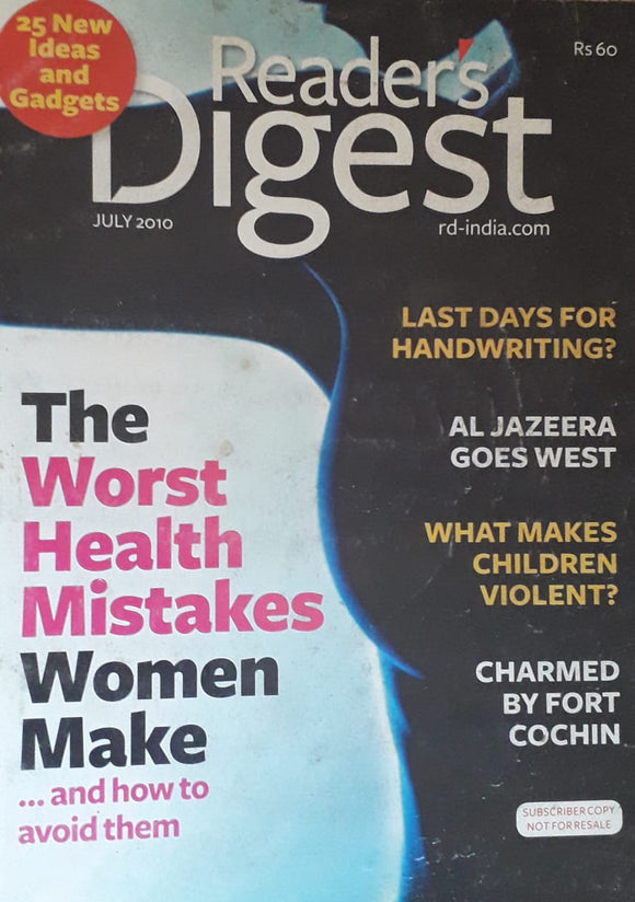 Reader's Digest July 2010