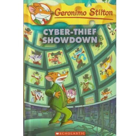 Cyber Thief Showdown  by Geronimo Stilton