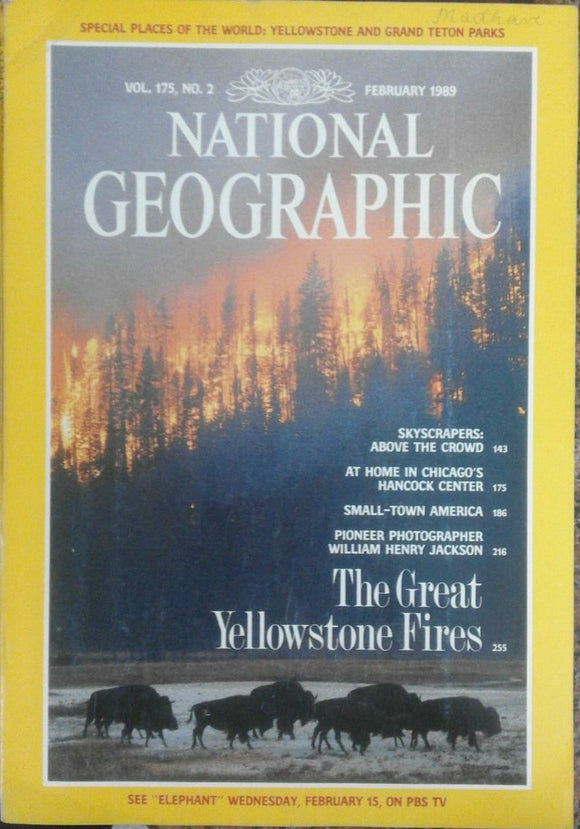 National Geographic Feb 1989