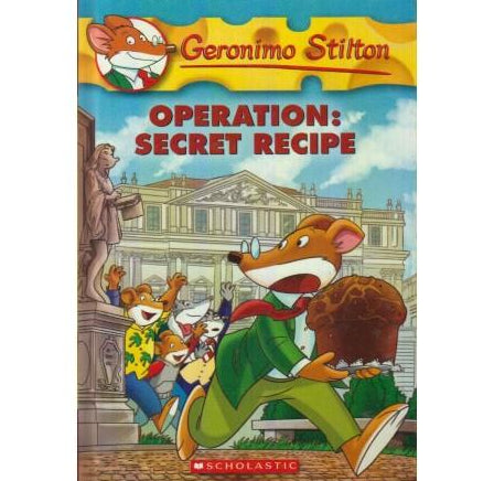 Operation Secret Recipe by Geronimo Stilton