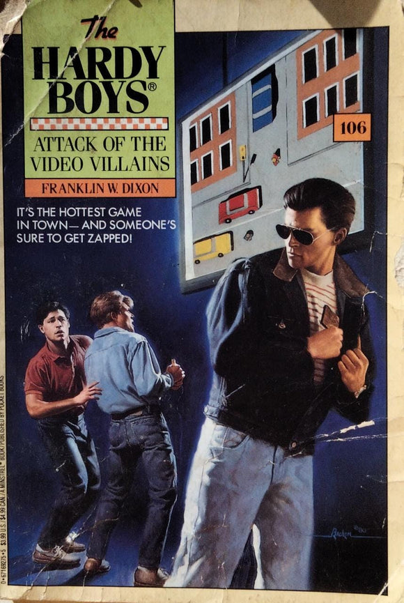 The Hardy Boys : Attack Of The Video Villains By Franklin W. Dixon #106