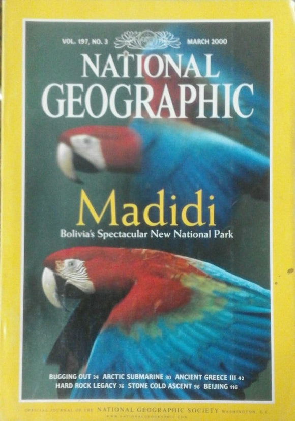 National Geographic Mar 2000