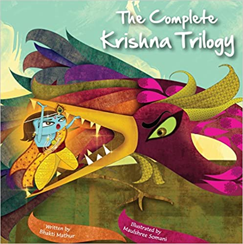The Amma Tell Me Krishna Trilogy by Bhakti Mathur