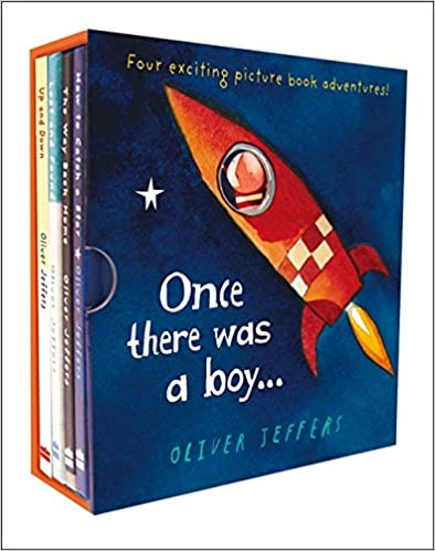 Once there was a boy Hardcover – Box set by Oliver Jeffers