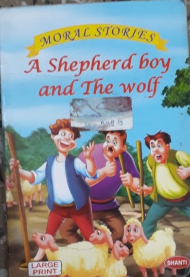 Moral Stories - A Shepherd Boy and the wolf