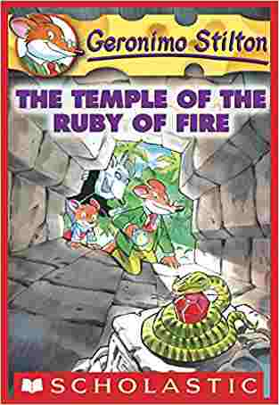 Geronimo Stilton #14: The Temple of the Ruby of Fire by Geronimo Stilton