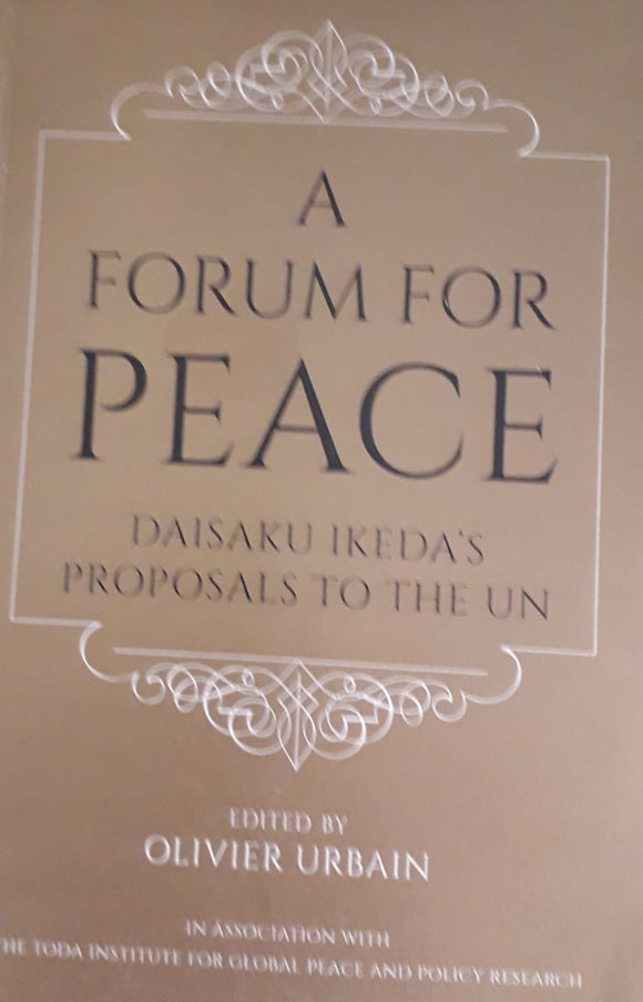 A Forum For Peace by Olivier Urbain