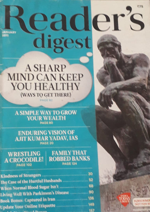 Reader's Digest January 2015