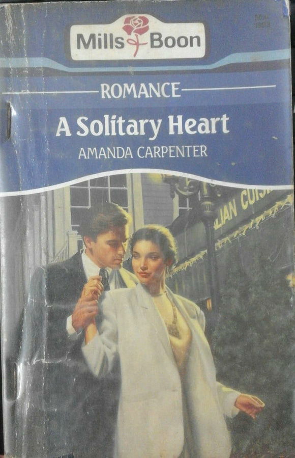 A Solitary Heart by Mills & Boon