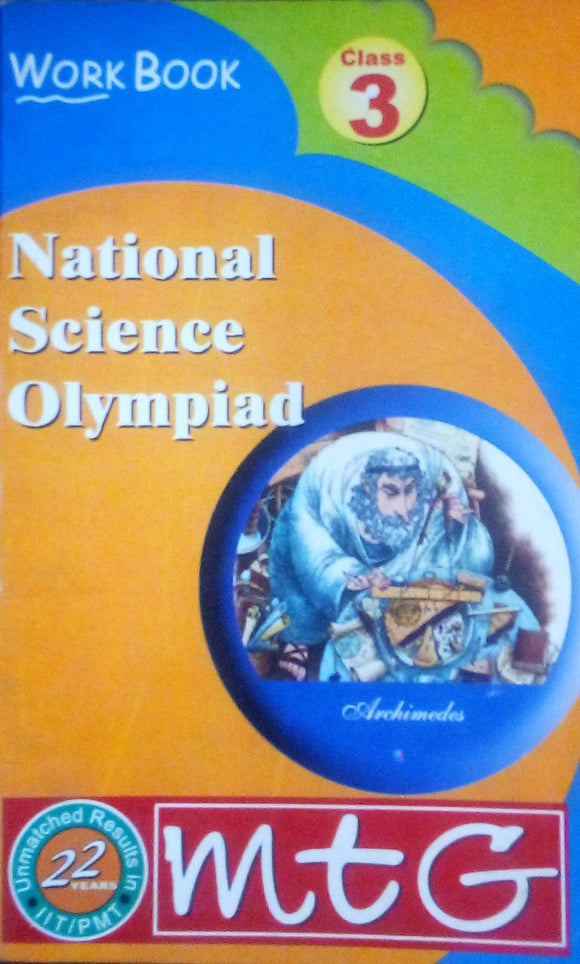 National Science OLympiad Work Book Class 3