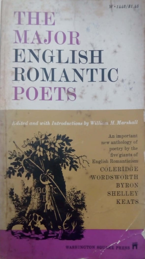 The Major English Romantic Poets: An Anthology by William H. Marshall