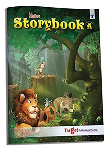 Blossom Story Book for Kids in English | 3 to 4 Year Old | 31 Short Stories with Moral and Colourful Pictures | Best Bedtime Animal Tales for Children | Book A by Content Team at Target Publications