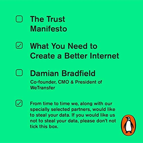 The Trust Manifesto by Bradfield, Damian