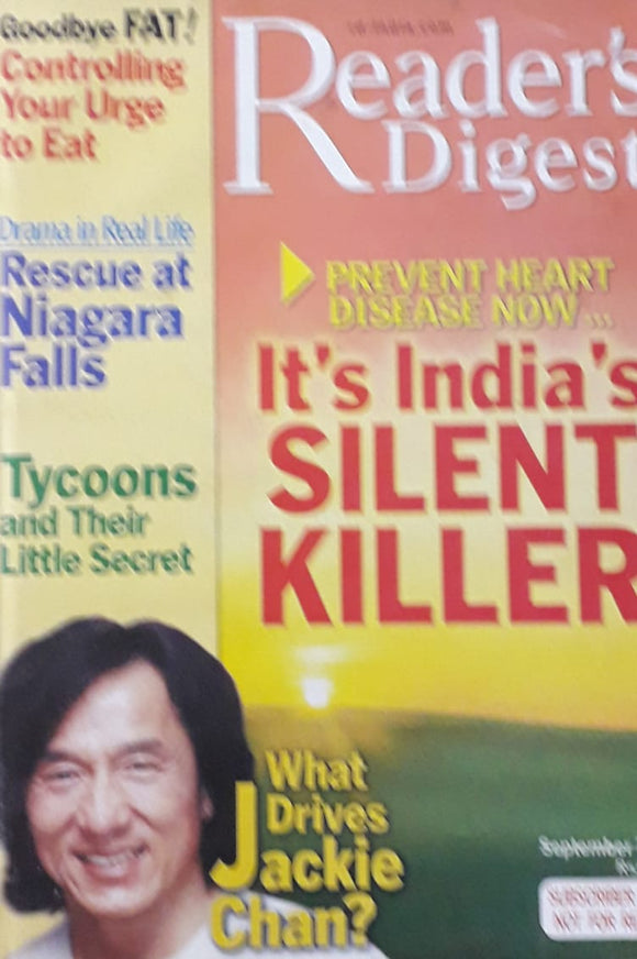 Reader's Digest September 2004