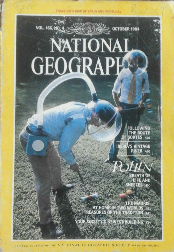 National Geographic Oct 1984