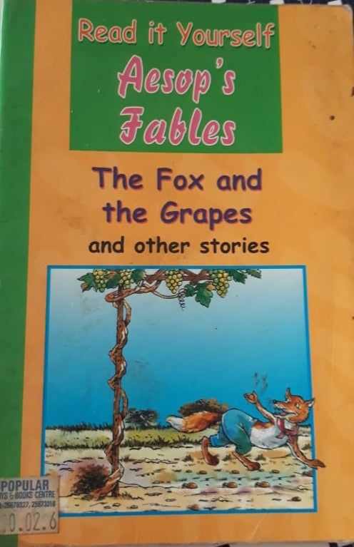Read it yourself - Aesop's Fables and other stories