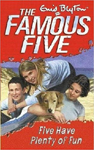 Five Have Plenty of Fun - The Famous Five Series: 14 (Old Edition) by Enid Blyton
