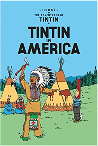 Tintin in America by Herge