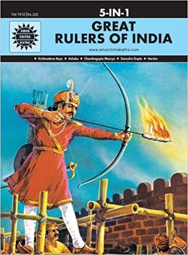 Great Rulers of India: 5 in 1 (Amar Chitra Katha)  by Anant Pai