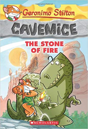 Cavemice - 1 The Stone of the Fire: 01 by Geronimo Stilton