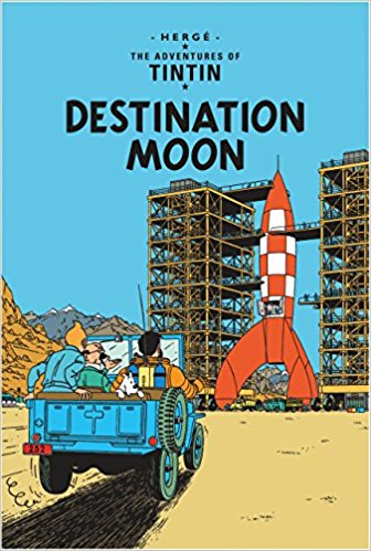 Destination Moon (Tintin) by Herge