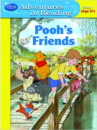 Pooh's Friends (Disney Adventures in Reading) by Susan Ring