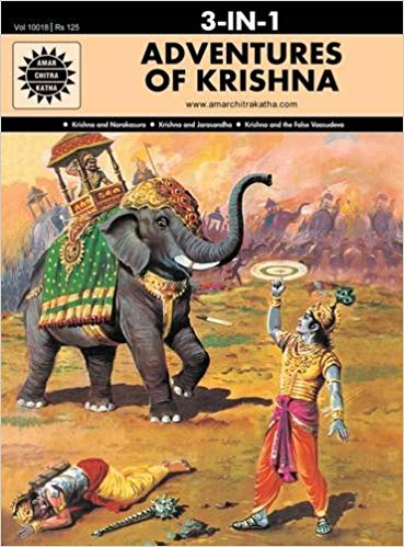 Adventures of Krishna: 3 in 1 (Amar Chitra Katha) by Anant Pai