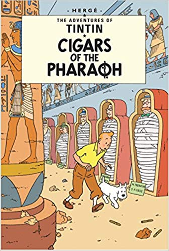 Cigars of Pharaoh (Tintin) by Herge