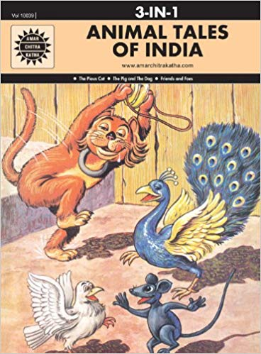 Animal Tales of India: 3 in 1 (Amar Chitra Katha) by Anant Pai