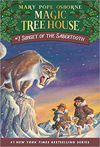 Sunset of the Sabertooth (Magic Tree House) by Mary Pope Osborne
