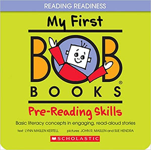 Bob Books - Prereading Skills by Lynn Kertell