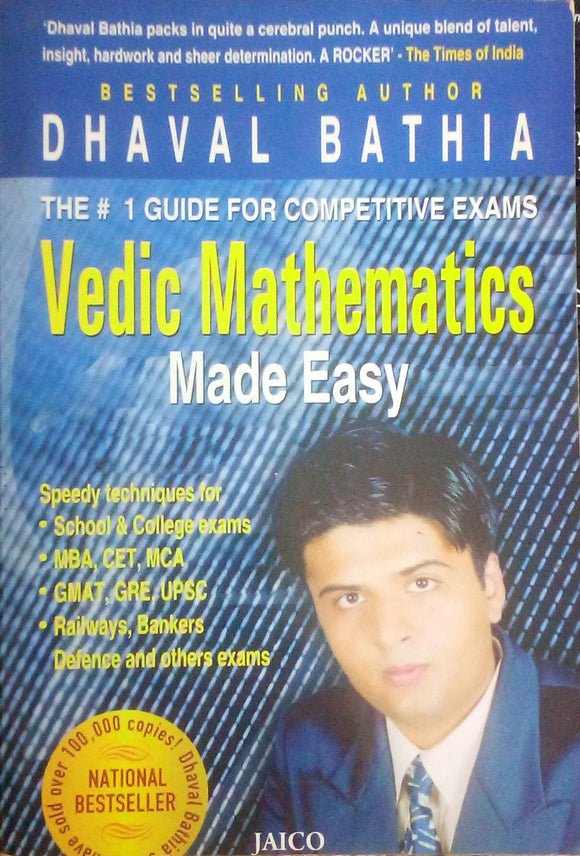 Vedic Mathematics by Dhaval Bathia