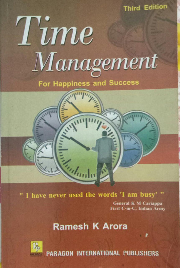 Time Management by Ramesh K Arora