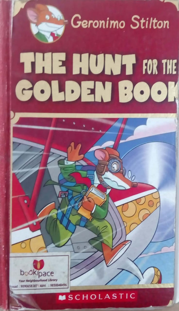 The Hunt for the Golden Book by Geronimo Stilton