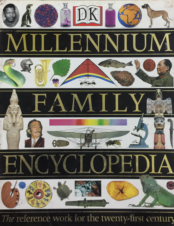 DK Millennium Family Encyclopedia - Full Set of 5