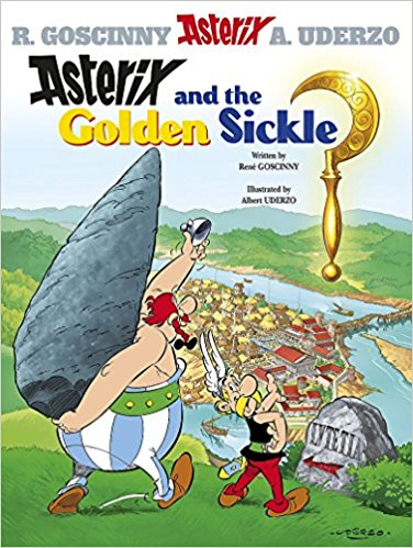 Asterix and the Golden Sickle: Album 2 by René Goscinny