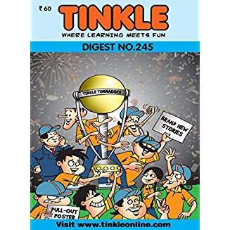 Tinkle Digest No. 245  by Neel Paul