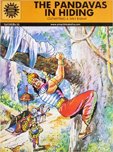 The Pandavas in Hiding (Amar Chitra Katha) by Subba Rao