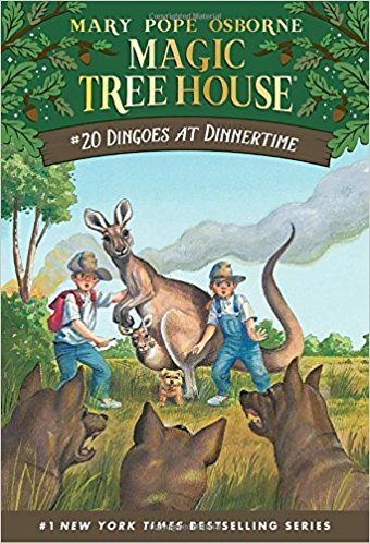 Dingoes at Dinnertime (Magic Tree House, No. 20) by Mary Pope Osborne