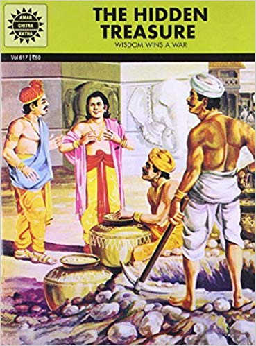The Hidden Treasure (Amar Chitra Katha) by Meera Ugra