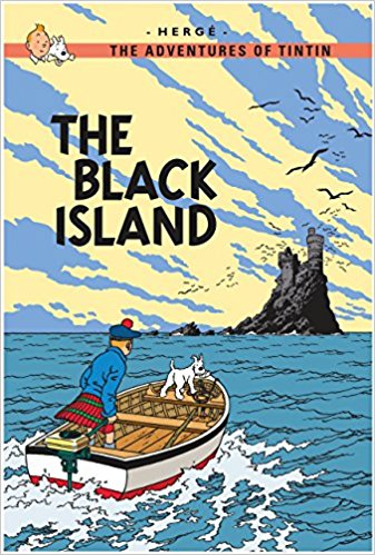 The Black Island (Tintin) by Herge