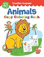 Animals Copy Colouring Book