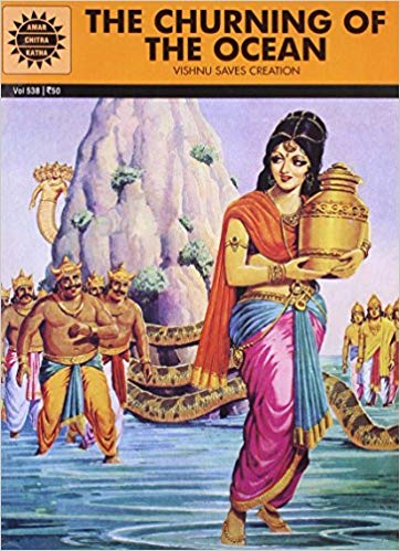 The Churning of the Ocean (Amar Chitra Katha) by Toni Patel
