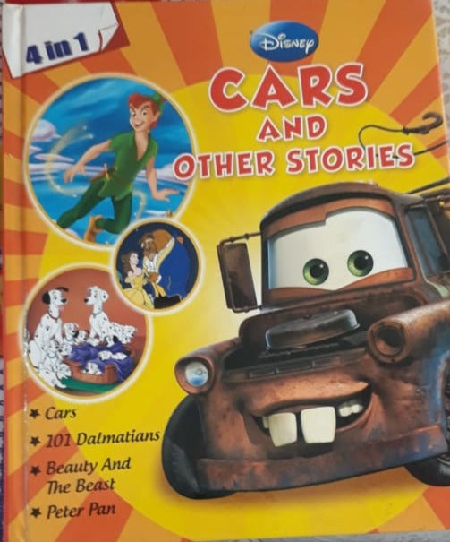 Disney 4 in 1 Cars and Other Stories