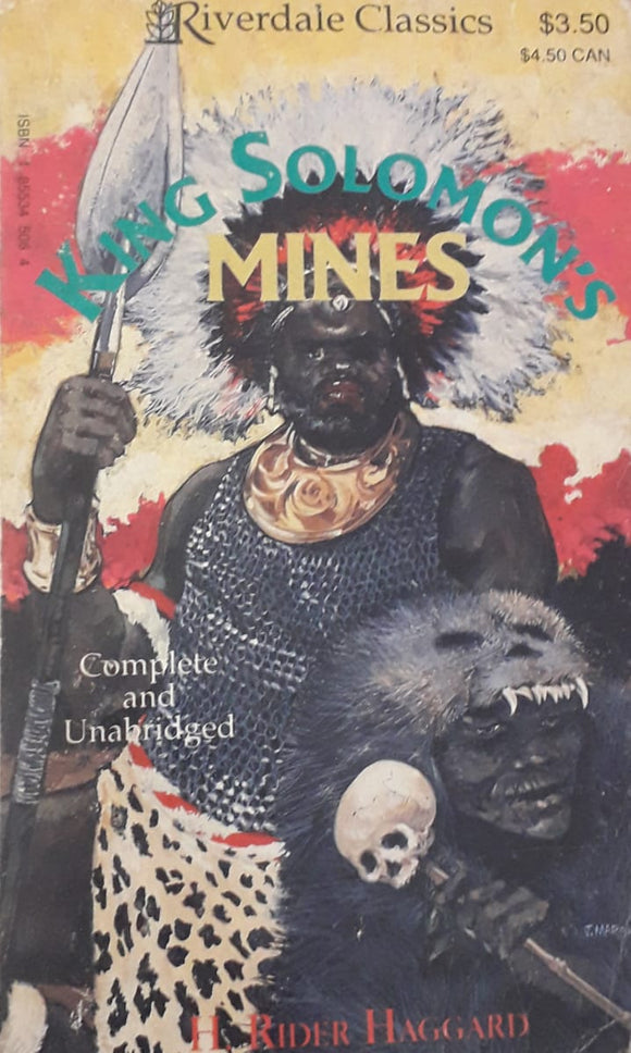 King Soloman's Mines by H. Rider Haggard