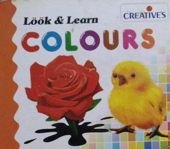 Look And Learn Colours Boardbook
