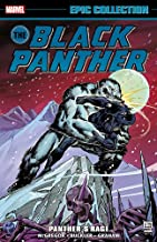 Black Panther Epic Collection: Panther's Rage By Don McGregor
