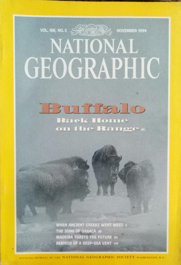 National Geographic Nov 1994