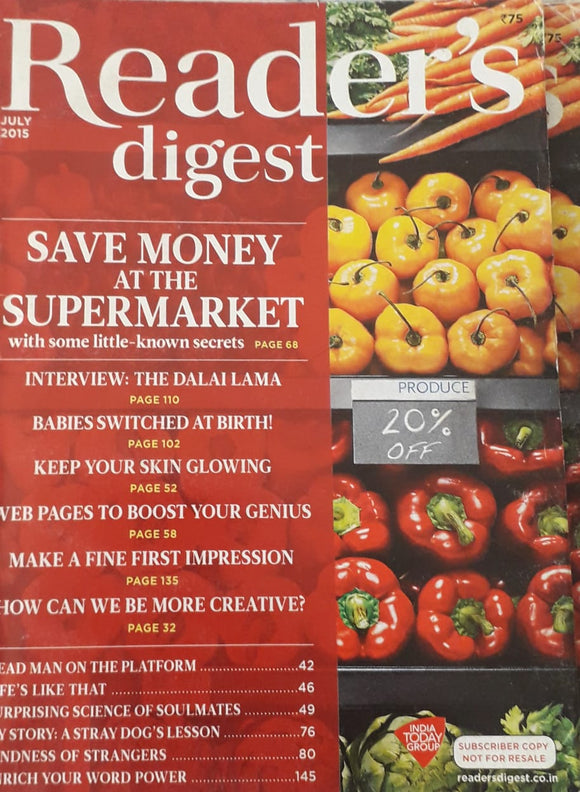 Reader's Digest July 2015